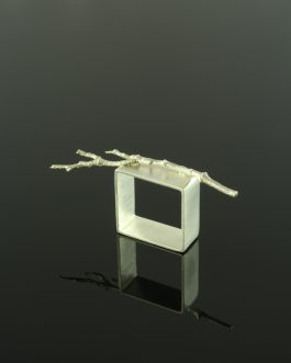 Collection Passages: silver frame ring